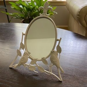 Bird Tabletop Mirror